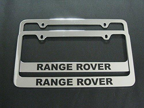 Chrome Range Rover License Plate Frame (2pcs) (plastic)