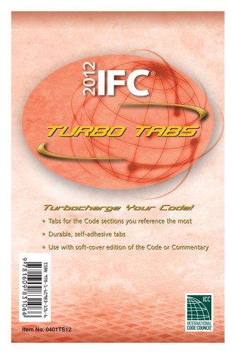 2012 International Fire Code Turbo Tabs for Loose Leaf Edition (International Code Council Series) -  Misc. Supplies