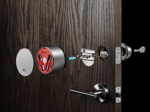 August Smart Lock - Keyless Home Entry with Your Smartphone, Champagne Photo #7