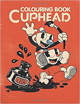 Cuphead colouring book: Colouring Book for Kids 4-10: Amazon.es ...