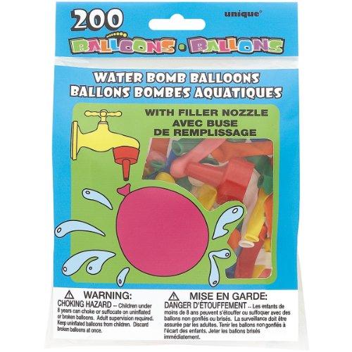 Water Bomb Balloons Nozzle 200ct