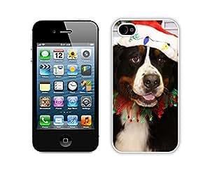 Custom-ized Design Christmas Black Dog iPhone 5c,Apple iPhone 5c White TPU Cover Case