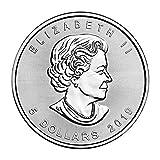 2019 1 oz .999 Silver Canadian Maple Leaf