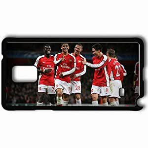 Personalized Samsung Note 4 Cell phone Case/Cover Skin Arsenal 2 Black