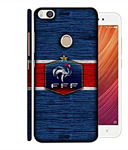 ColorKing Football France 16 Blue shell case cover for Xiaomi Mi Max 2