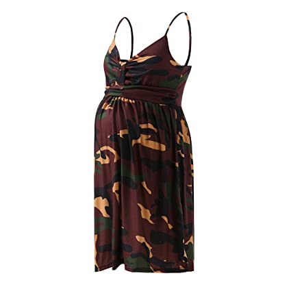 153d12eaf41 Amazon.com  Camouflage Maternity Dress