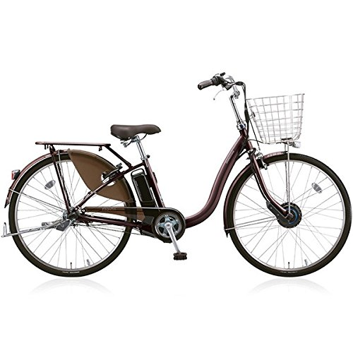BRIDGESTONE(ブリヂストン) 18年モデル フロンティアロイヤル F4RB48 24インチ 電動アシスト自転車 専用充電器付 B076SDD99W F.Xカラメルブラウン F.Xカラメルブラウン
