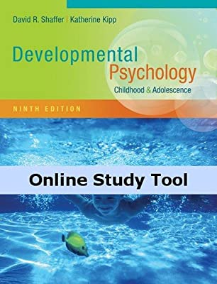 CourseMate Online Study Tools to Accompany Shaffer/Kipp's Developmental Psychology: Childhood and Adolescence, 9th Edition, [Instant Access], 1 term (6 months)
