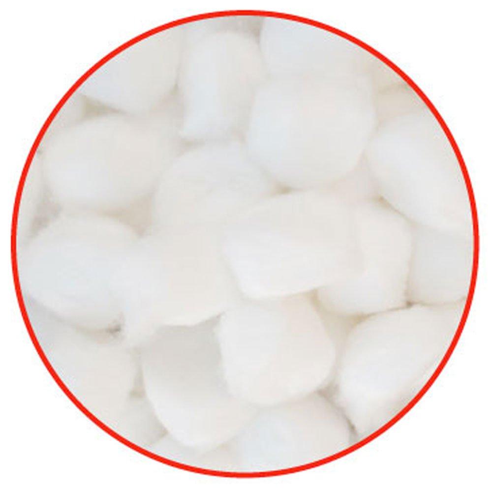 Cotton Balls, Large, Fits Narrow Vials, 2000 Balls/Unit