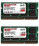 Komputerbay 8GB (2x 4GB) DDR3 SODIMM (204 pin) 1066Mhz PC3-8500 (7-7-7-20) Laptop Notebook Memory for Apple Macbook Pro