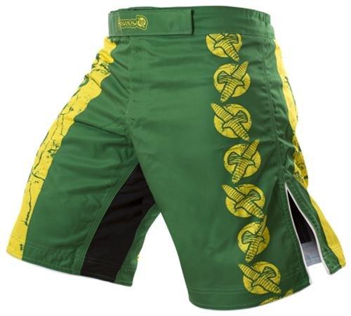 Hayabusa Instinct Fight Shorts, 38, Green by Hayabusa