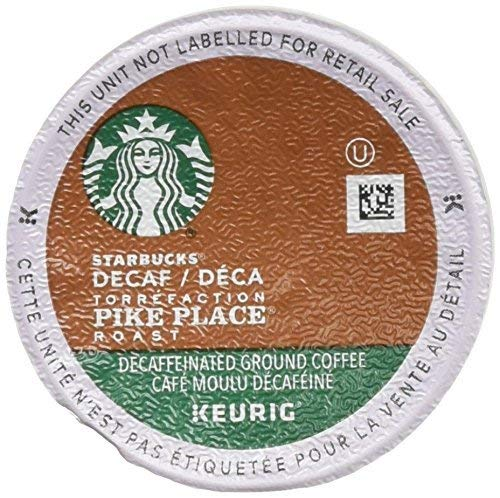 Starbucks Decaf Pike Place Roast K Cups (72 Count) (K Cups Starbucks Decaf)