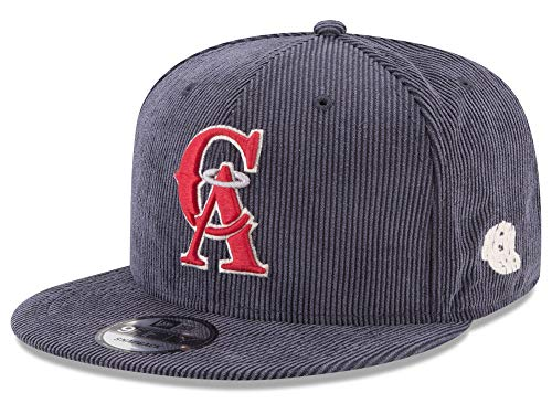 (New Era Los Angeles Angels MLB All Cooperstown Corduroy 9FIFTY Snapback)