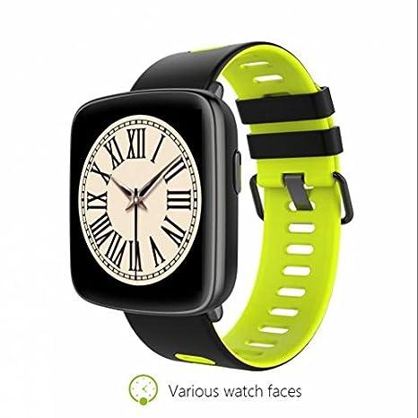 Smartwatch Relojes Deportivo Relojes Inteligentes,contador de calorías,notificaciones de mensajes,Monitor de