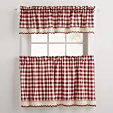 Cheap BrylaneHome Buffalo Plaid Valance