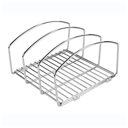 Kitchen iDesign Classico Kitchen Cabinet Storage Rack pot lid holders
