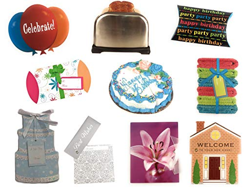 Special Occasion Gift Card Holder Bundle - 10 Styles - 20 Total