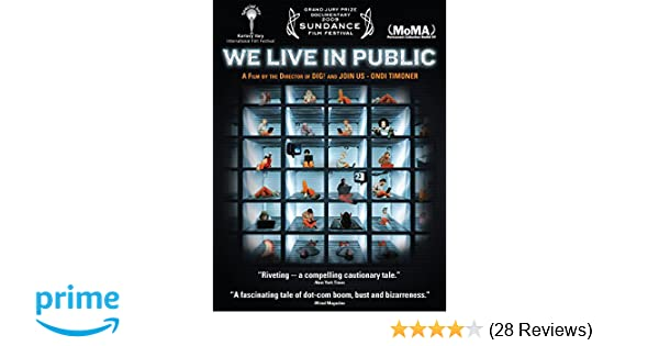 Amazon com: We Live In Public: Josh Harris, Tom Harris