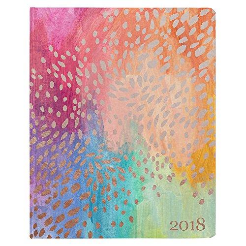 Erin Condren 2018 Hardbound LifePlanner- Painted Petals, 8x10