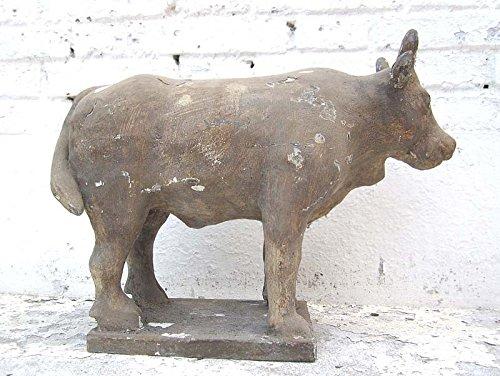 Escultura de búfalo Astrología personaje budista y madera de álamo 100 años de Luxury Park