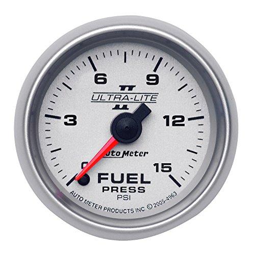 Gauge Isspro Pressure Fuel (Auto Meter 4961 Ultra-Lite II 2-1/16