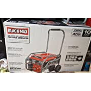 Black Max 7000 / 8750 Watt Portable Generator BM907000 Electric Start Powered