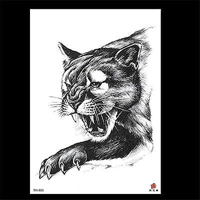 zgmtj 2019 Nuevas Pegatinas de Tatuaje de león TH-402 148 * 210MM ...