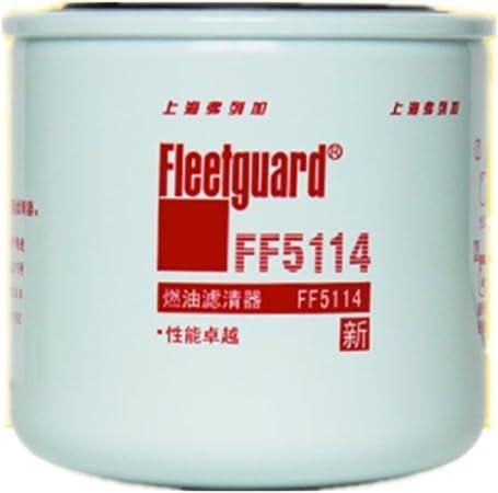 amazon.com: fleetguard ff5114, diesel fuel filter, for fiat hitachi, gmc,  komatsu: automotive  amazon.com
