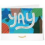 Amazon Gift Card - Print - Yay It's Your Birthday
