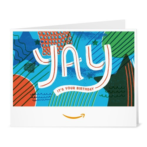 Amazon Gift Card - Print - Yay It's Your Birthday ()