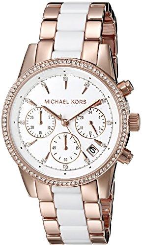 Chronograph Ceramic Bracelet Watch - 3