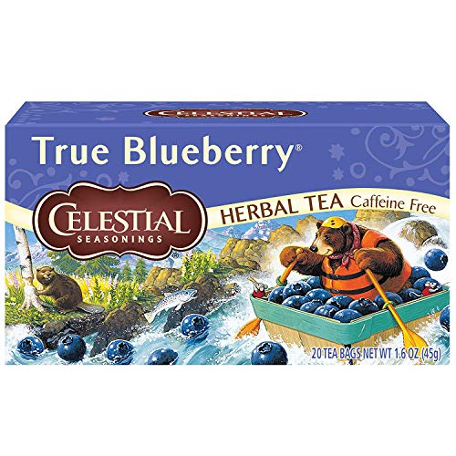 Celestial Seasonings Herb Tea True Blueberry 20 Bag (Pack of 2)