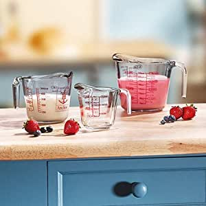 Use This 3-Piece Measuring Cup Set To Help You Estimate The Right Amount You Need