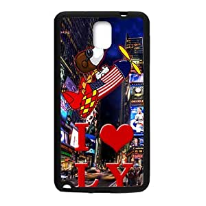 DAZHAHUI Luxury Hotels Times Square Cell Phone Case for Samsung Galaxy Note3