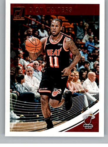 Basketball NBA 2018-19 Donruss #35 Dion Waiters #35 NM+ Heat