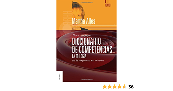 Diccionario De Competencias La Trilogía Tomo 1 Spanish Edition Ebook Alicia Alles Martha Kindle Store