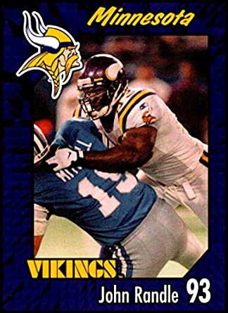 57037dfe Amazon.com: 1999 Burger King Minnesota Vikings #16 John Randle NM-MT ...