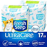 Fresh Step UltraCare with Febreze Freshness, Clumping Cat Litter, Scented, 17 Pounds