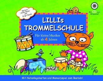 Lillis Trommelkisten-Set: Das komplette Anfängerset für kleine Musiker ab 4 Jahren