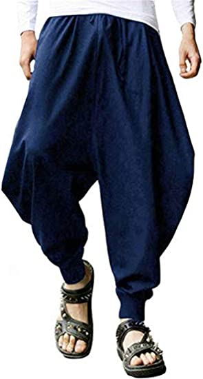 CBTLVSN Women Tie Dye Print Pants Baggy Hippy Harem Pants