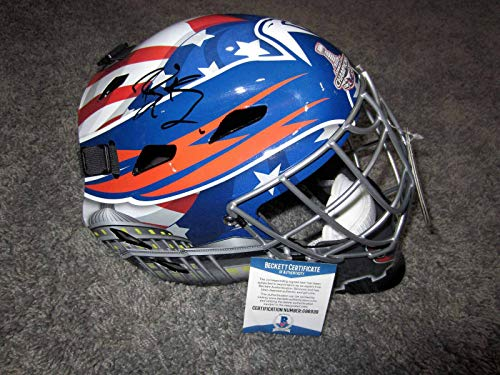 BRADEN HOLTBY Washington Capitals SIGNED 2019 Stanley Cup Goalie Mask W/BAS COA - Beckett Authentication