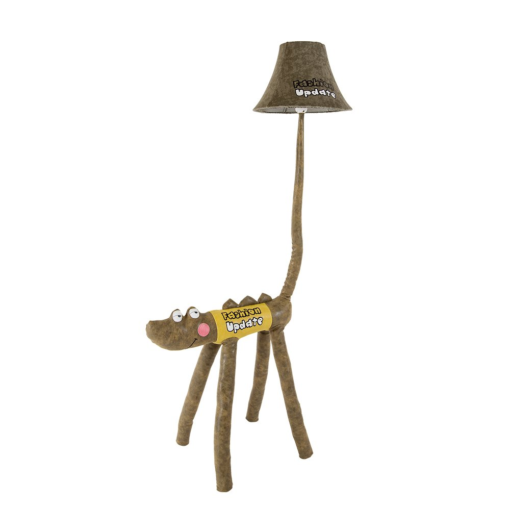 Kids Desk Lamp LED Cute Crocodile LED Floor Lamp Funny Animal children bedroom Table lamp Two Sizes Option (125cm) by Balie Space (Image #4)