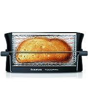 Taurus Todopan Verticale broodrooster, 700 W, tot 4 schijven, steunstaaf, veiligheidsrooster, zwart
