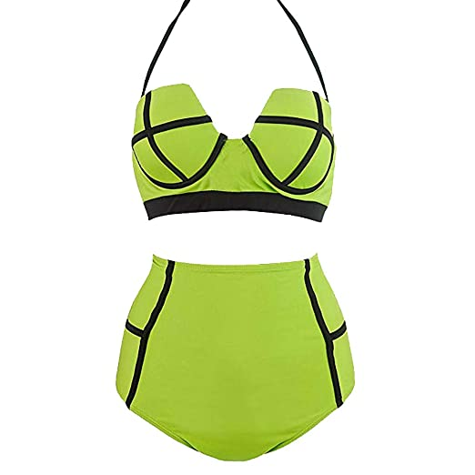 bb2eb1dcc1e Clothing Suit Sets MALLOOM Womens High Waisted Swim Bottom Ruched Bikini  Tankini Swimsuit Briefs Plus Size