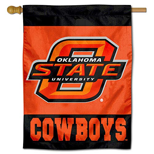 College Flags and Banners Co. OK State Banner House Flag