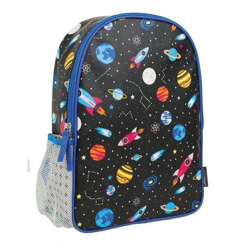 Petit Collage Space Backpack Sac à Dos Enfants, 36 cm, 10 liters, Multicolore (Multi Coloured) PTC207