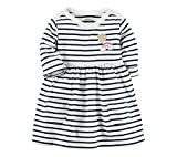 Carter's Baby Girls' Striped Jersey Dress