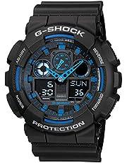 GSHOCK Men's Automatic Wrist Watch analog-digital Display and Resin Strap, GA100-1A2