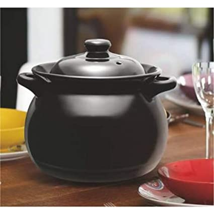 Buy Skykey Treo Enigma Cookware Ceramic Cooking Pot 2500 Ml Black