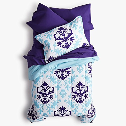 College Dorm Comforter - Purple - Twin XL